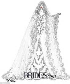 Image Gallery lace wedding dresses drawings