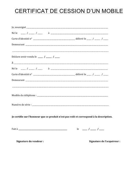 contrat de vente d'un vhicule d'occasion entre particuliers