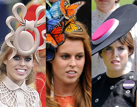 Remembering Princess Eugenie and Beatrice's Infamous Hats | PEOPLE.com