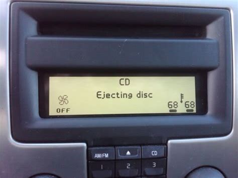 "2005 S40 Cd Player Stuck At ""ejecting Cd""  Volvo Forums"