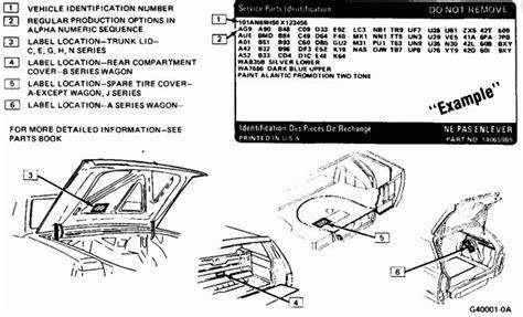 Chevrolet Service Parts Identification Decoderhtml