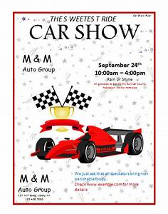 What Motivates You To Choose This Part As A Career Car Show Flyer Template Microsoft Word Templates