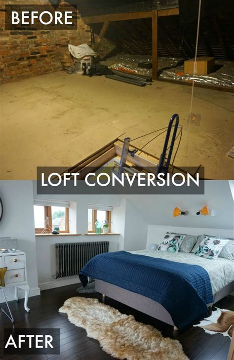Converting Living Room Into Master Bedroom by Loft Conversion Room Reveal Projectattic Master Bedroom
