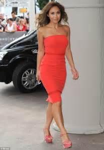 Myleene Klass Wears Sexy Red Dress At Cannes Film Festival