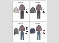 The Men's Capsule Wardrobe Winter 2018 Collection