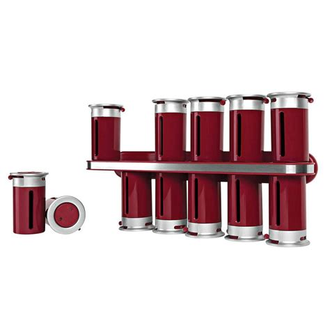 Silver Spice Rack by Closetmaid Spice Rack 73996 The Home Depot