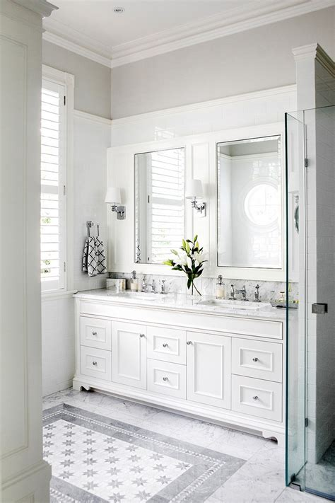 bathroom decorating ideas for minimalist white bathroom designs to fall in