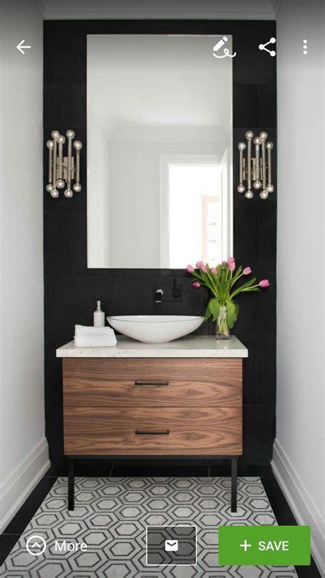 beautiful powder room contemporary  bathblack