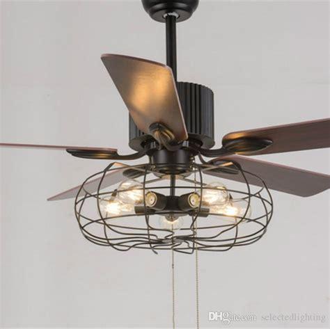edison light ceiling fan 2018 loft vintage ceiling fan light e27 edison 5 bulbs