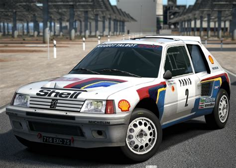 Peugeot Rally Car by Peugeot 205 Turbo 16 Rally Car 85 Gran Turismo Wiki