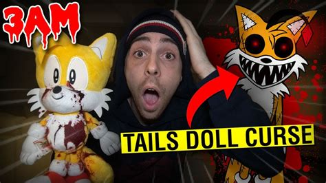 Summoning The Tails Doll Curse At 3am Challenge!! *omg It