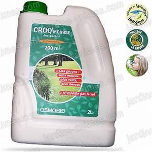 Anti Mousse Gazon Liquide : croq mousse des gazons 2l naturel antimousse entretien du gazon ~ Melissatoandfro.com Idées de Décoration
