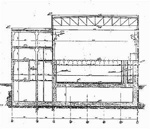 Schematic Cross Section Of The Building Structure