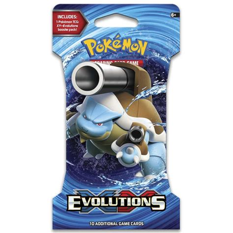 Walmart.com has been visited by 1m+ users in the past month Pokemon TCG Evolutions Blister Booster Pack - The Brick Road