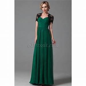 robe longue vert emeraude With robe de soirée vert émeraude