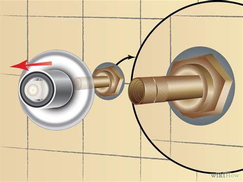 Fixing A Leaking Faucet by How To Fix A Leaky Shower Faucet 11 Steps With Pictures