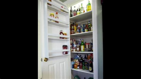 Wooden Spice Rack For Pantry Door by How To Make A Pantry Door Spice Rack