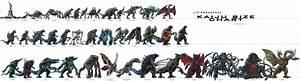 Kaiju size chart by GMKgodzilla on DeviantArt