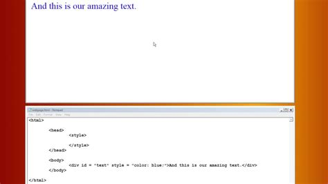 html text color html how to change text color tutorial