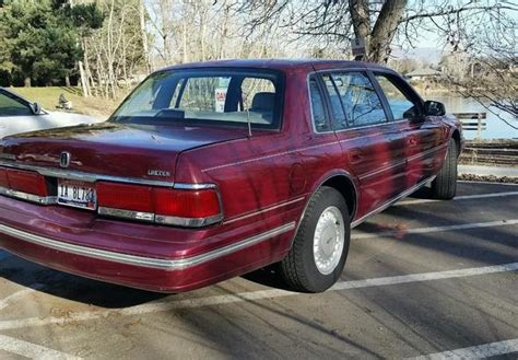 automobile air conditioning repair 1991 lincoln continental parental controls 1991 lincoln continental in boise idaho stock number c107869l