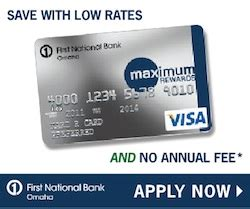 What is fnb credit card interest rate. First National Bank of Omaha Maximum Rewards Credit Card Review