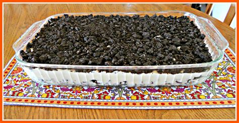 Dirt Cake Dirt Cake Pillows A La Mode