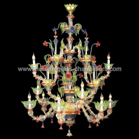 quot arboreo quot lustre en cristal de murano murano glass chandeliers