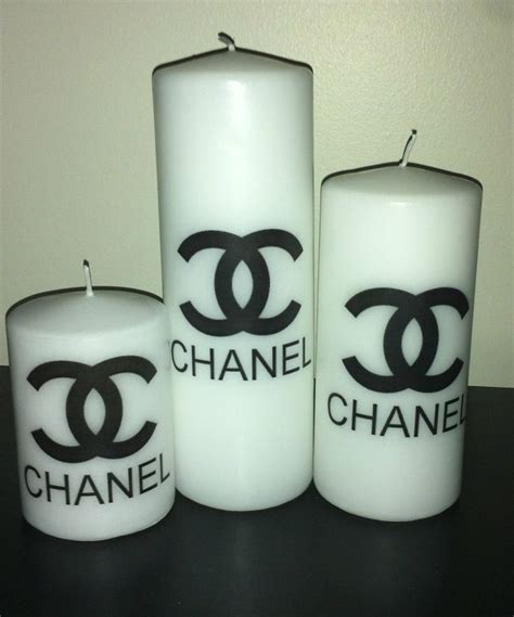 candle set chanel  candles  pinterest