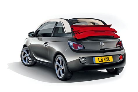 jeep soft top white vauxhall adam cabriolet is coming auto express