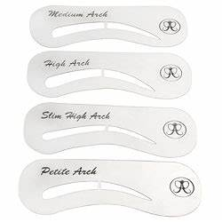 eyebrow templates printable - eyebrow stencil learn how to use one to create beautiful
