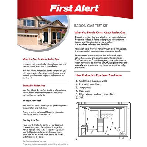 First Alert Rd1 Radon Test Kit  First Alert Store