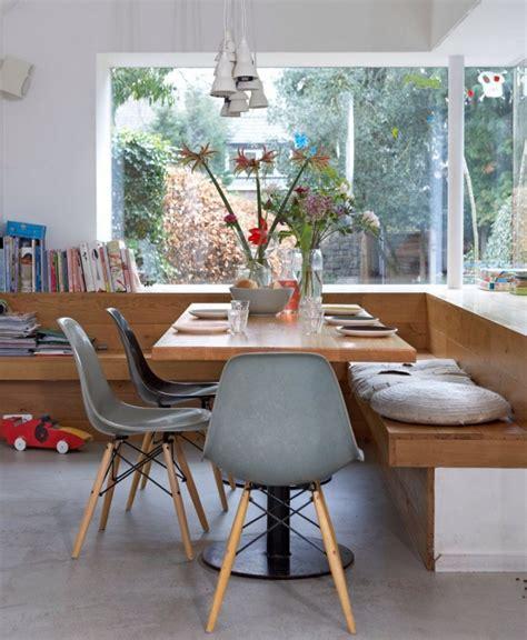 table et banc de cuisine banc de cuisine contemporain en 30 idées pour le coin repas