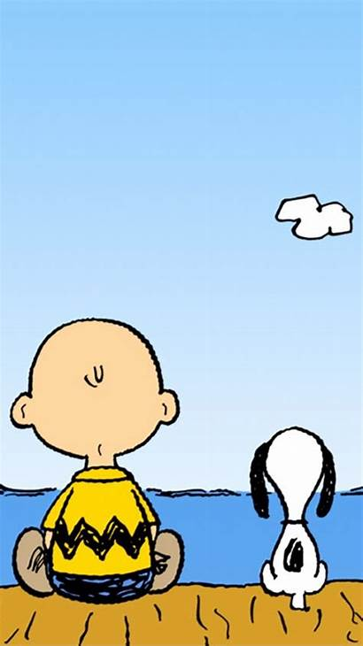 Cartoon Peanuts Phone Snoopy Mobile Brown Charlie