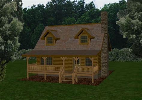Log Cabins & Small Log Homes: Battle Creek Log Homes, TN