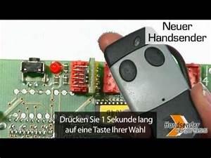 Hörmann Handsender Programmieren Probleme : handsender mit hilfe des empf ngers programmieren youtube ~ Eleganceandgraceweddings.com Haus und Dekorationen