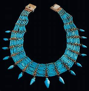 Ancient & Medieval History - Egyptian Faience Collar ...