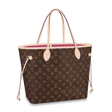 louis vuitton lv women neverfull mm bag  monogram canvas lulux