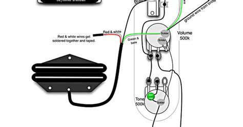 Stagg Bas Guitar Wiring Diagram by Tele Wiring Diagram With 2 Humbuckers Telecaster Build
