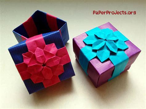 Diy Paper Origami Gift Box  Diy Virtual Fretboard