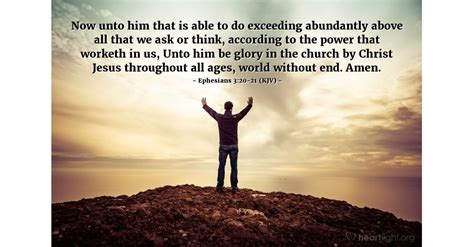 These top selling books span multiple centuries, covering. Ephesians 3:20-21 (KJV) — Today's Verse for Sunday, March 20, 2016