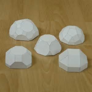 Archimedean Solids Paper