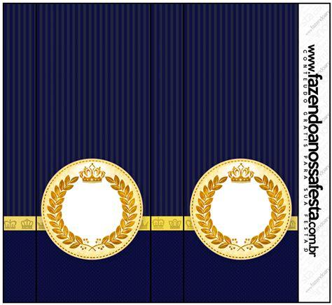kit festa completo coroa de principe azul marinho 2 64