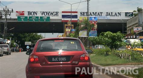 Thai Vehicles Entering Malaysia To Pay Road Charge