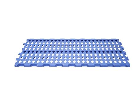 heavy floor mat sm blue rfl