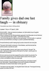 obituary examples sample obituary make it unique with With obituaries examples templates
