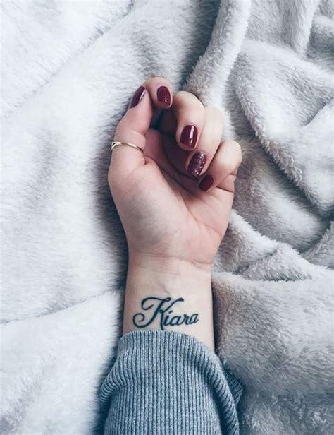 10 Idées De Tatouages Prénom  Femme Actuelle