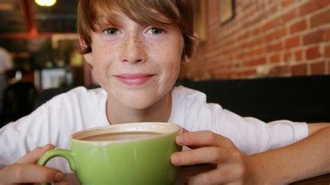 Decaf coffee contains only a very. Is it OK for teens to drink coffee?