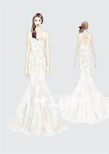 {Design Your Own Wedding Dress} Delicate Customized ...