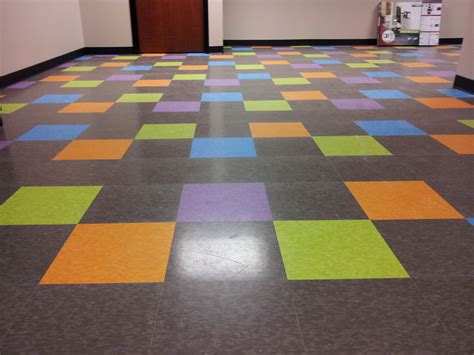 vct tiles maybe we can similar look to have a variety of colors in our vct floor ideas for our new