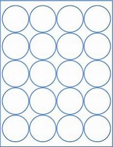 6 sheets round blank 2quot inch white stickers sheets With circle sticker sheets